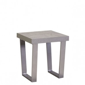 City/Concrete Lamp Table