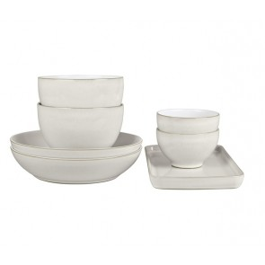 Denby Natural Canvas 7 Pce Takeaway Set