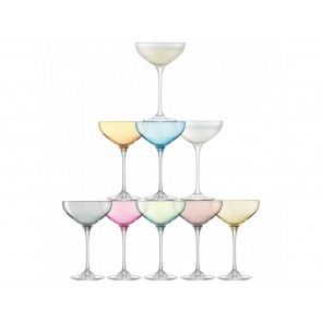 LSA Assorted Champagne Glass (Set of 10)