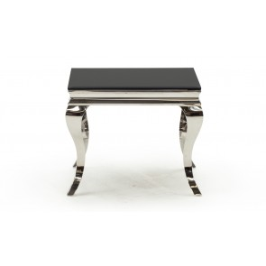 Glamour Black Lamp Table