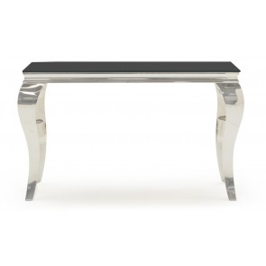 Glamour Black Console Table