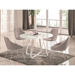 Kendall Round Dining Table & 4 Chairs