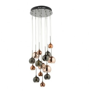 Aurelia 15 Light G4 Spiral Pendant