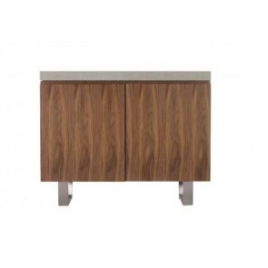 City/Concrete Narrow Sideboard