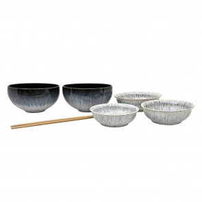 Denby Halo 7 Piece Asian Set