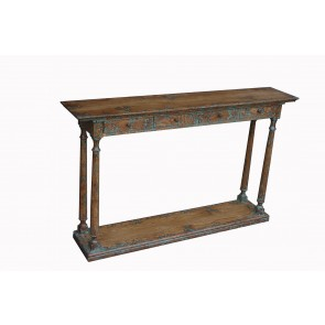 Hudson Bay 4 Drawer Narrow Console Table