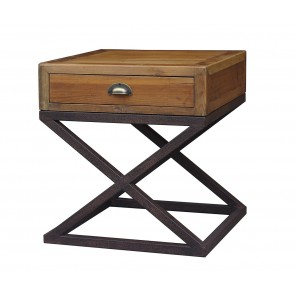Hudson Bay 1 Drawer Lamp Table