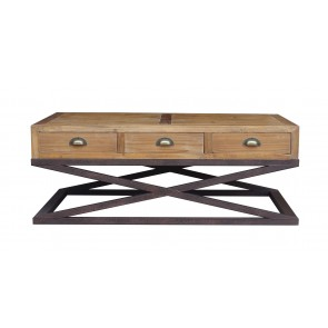 Hudson Bay 6 Drawer Coffee Table