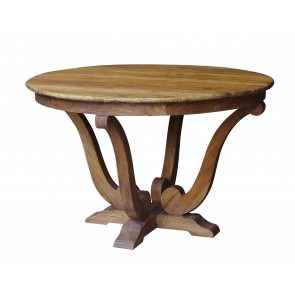 Hudson Bay Old Elm Round Table