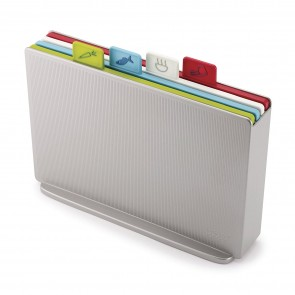 Joseph Joseph Chopping Board Set Silver