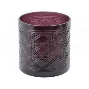 Beaufort Port Cut Glass Votive