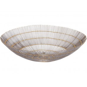 Fusion Wire Web Decorative Bowl