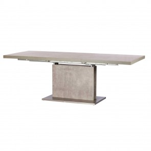 City/Concrete 160cm Ext. Table
