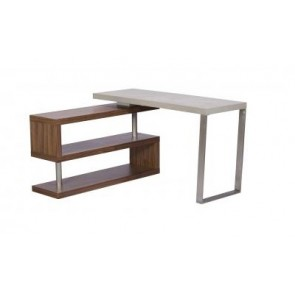 City/Concrete Corner Desk