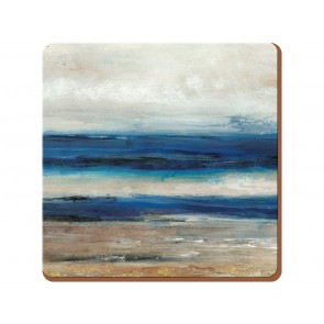 Blue Abstract Coasters Set of 6
