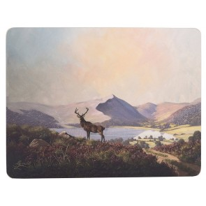 Highland Stag Placemats Set of 6