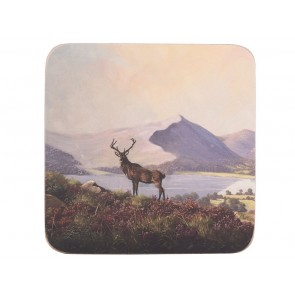 Highland Stag Coasters Set of 6