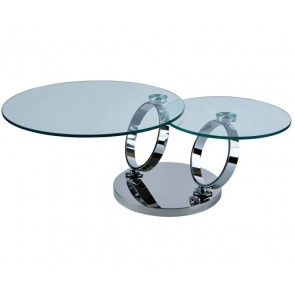 Magic Rings Moveable Coffee Table
