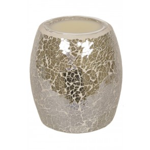 Gold Lustre Crackle Electric Burner