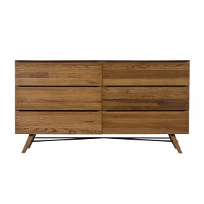 Arya 6 Drawer Wide Chest
