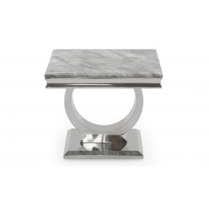 Elegance Grey Lamp Table