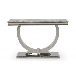 Elegance Grey Console Table