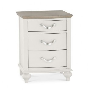 Aspen 3 Drawer Nightstand