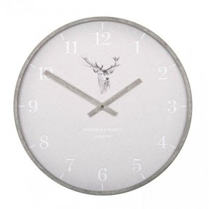 Crofter Wall Clock Stag