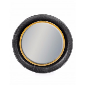 Round Lincoln Wall Mirror Medium
