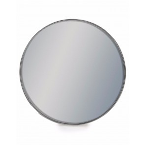Medium Round Silver Framed Arden Mirror