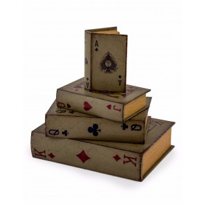 Antique Playing Card Storage Boxes