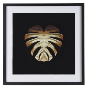 Gold Deco Monstera