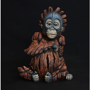 Baby Orangutan Edge Sculpture