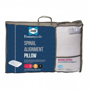 Sealy 7cm Spinal Alignment Pillow - Firm