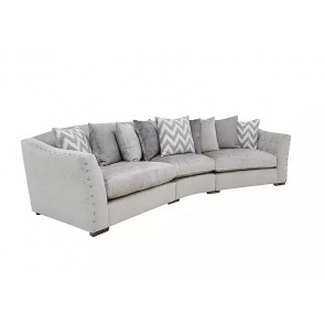 Statesman Large 3 Piece Curved Sofa