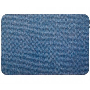 Blue Herringbone Placemat