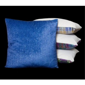Blue Herringbone Cushion