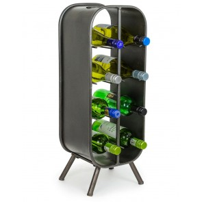 Camden Industrial Wine Rack Small