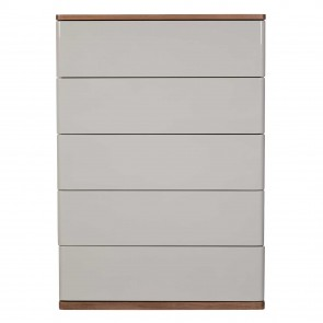 Caspian 5 Drawer Tall Wide Chest