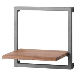Live Edge Collection Shelf - Square