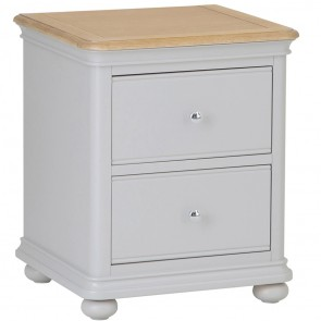 Charleston 2 Drawer Bedside Chest