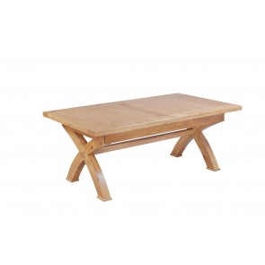 Normandy Cross Leg Extending Table
