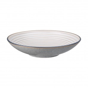 Denby Studio Grey Ridged Large Bowl