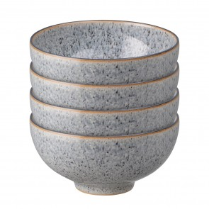 Denby Studio Grey Rice Bowls - Set of 4