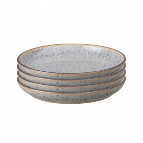 Denby Studio Grey Small Coupe Plate (x4)