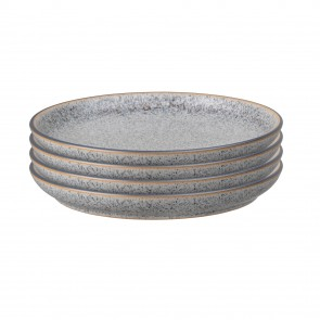 Denby Studio Grey Coupe Dinner Plate(x4)