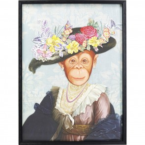 Lady Monkey Art