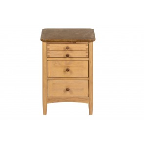 Cheviot 3 Drawer Bedside Chest