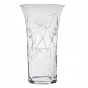 Large Flared Vase 26cm - Dragonfly