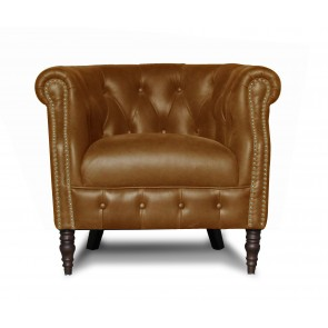 Jude Accent Chair - Hyde Leather